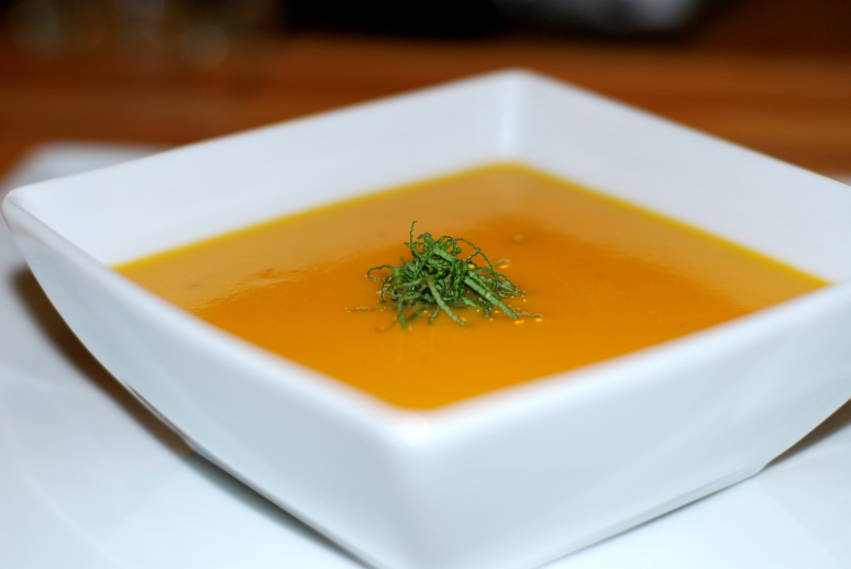 Butternut Squash Soup ~ Living the Savory Life