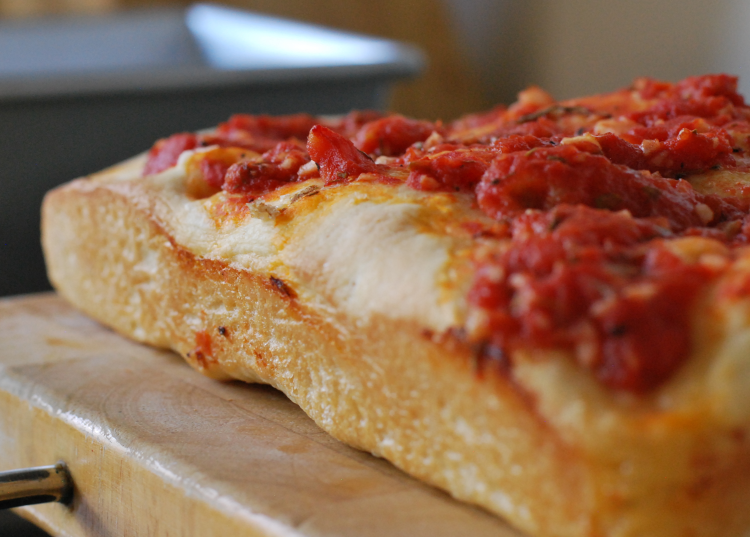 Pizza Bread ~ Living the Savory Life