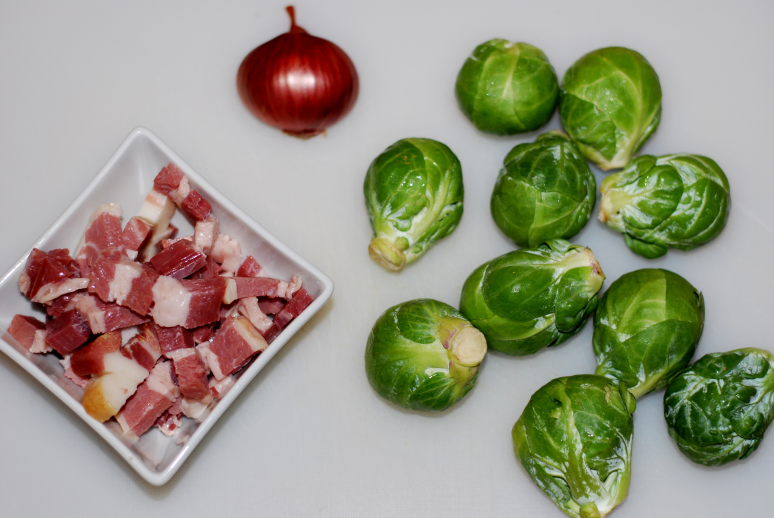 Bacon Brussels Sprouts ~ Living the Savory Life
