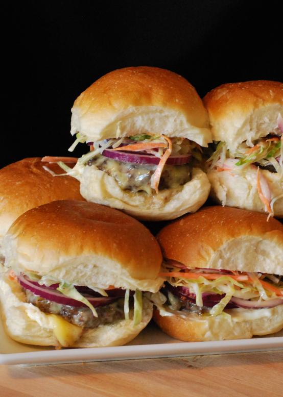 Carolina Burger Sliders