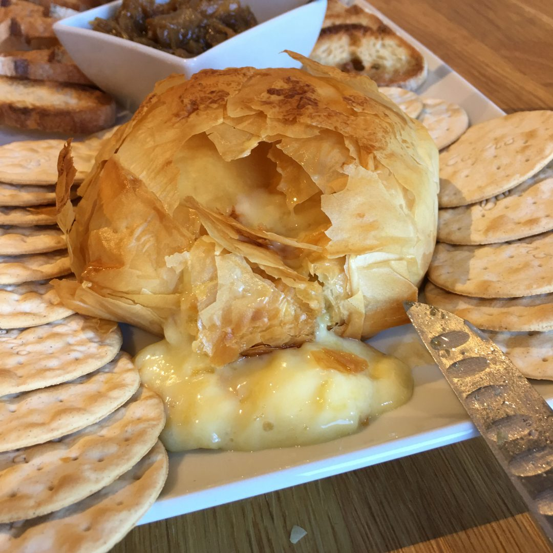 Baked Brie Melted